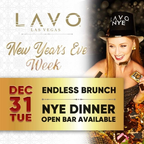Lavo NYE Dinner - LAVO Brunch