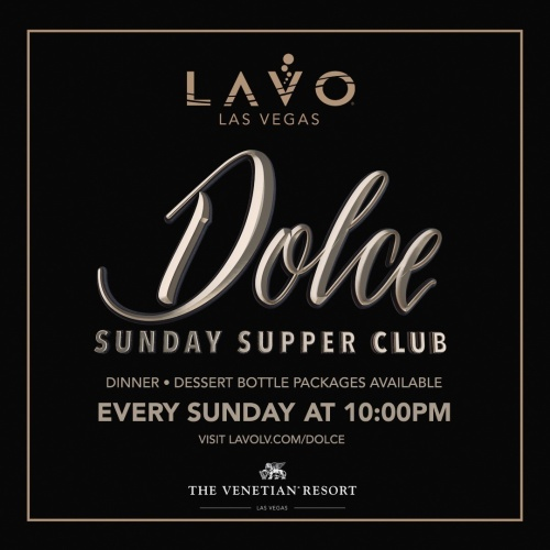 DOLCE - LAVO Brunch