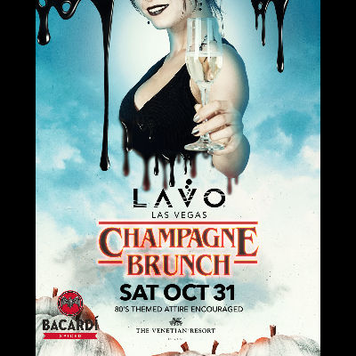 CHAMPAGNE BRUNCH, Saturday, October 31st, 2020
