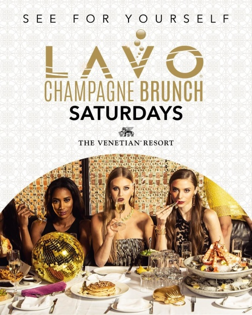 CHAMPAGNE BRUNCH - LAVO Brunch