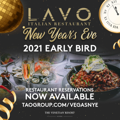LAVO NYE - LAVO Brunch