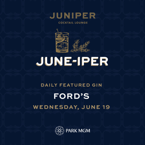 FORD'S - Juniper Cocktail Lounge