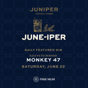 MONKEY 47, Saturday, June 22nd, 2019
