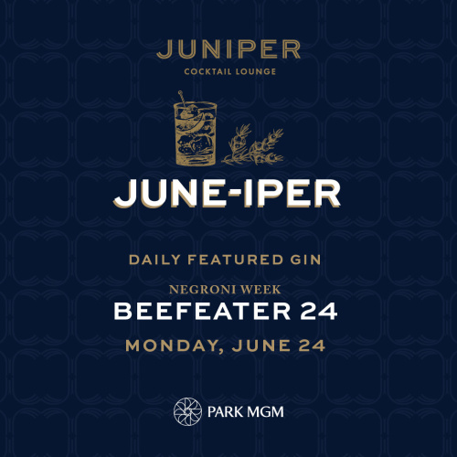 BEEFEATER 24 - Juniper Cocktail Lounge
