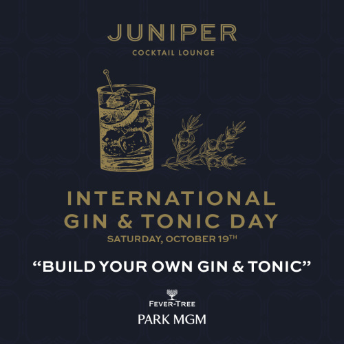 International Gin & Tonic Day - Juniper Cocktail Lounge