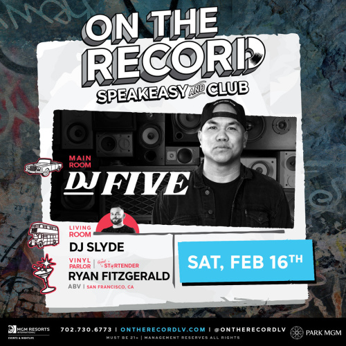 DJ Five - On The Record