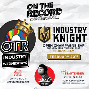 Industry Knight with KRS-One, Wednesday, February 20th, 2019