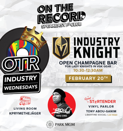 Industry Knight with KRS-One - On The Record