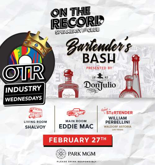 Bartender Bash with Eddie Mac - On The Record