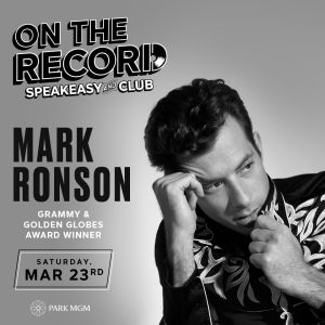 Mark Ronson, Saturday, March 23rd, 2019