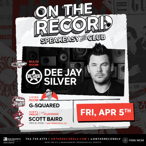 Dee Jay Silver - On The Record