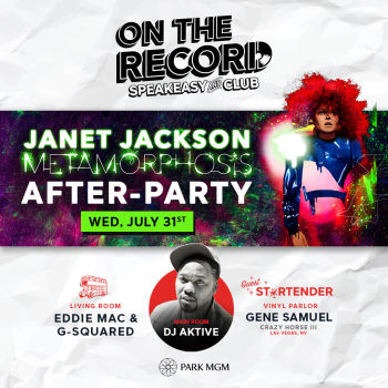 Janet Jackson After-Party - Wed Jul 31