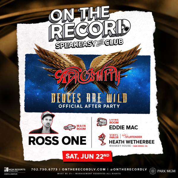Aerosmith After-Party with DJ Ross One