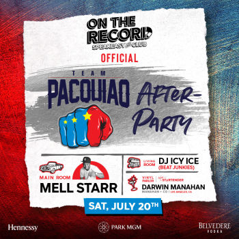 Team Pacquio After-Party - Sat Jul 20