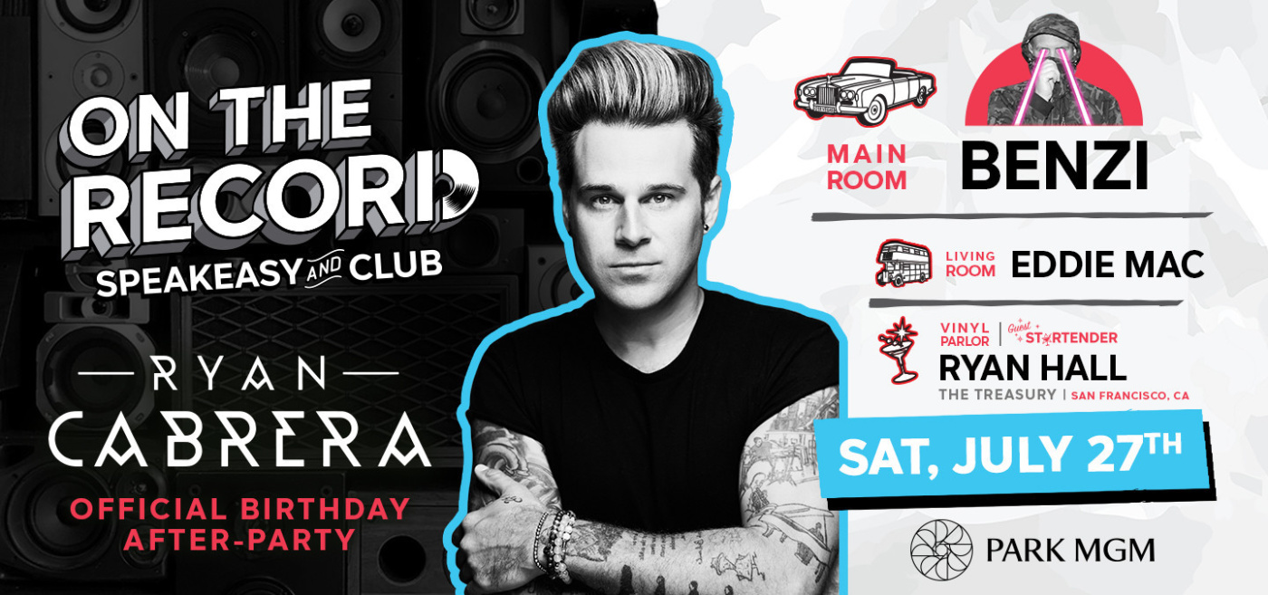 Official Ryan Cabrera Birthday After-Party