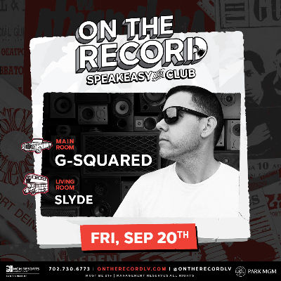 G-Squared, Friday, September 20th, 2019