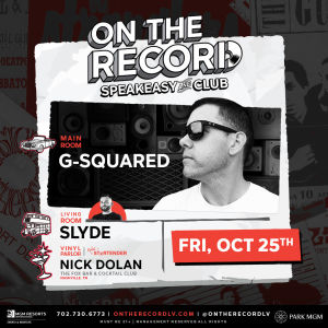 G-Squared, Friday, October 25th, 2019