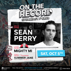 Sean Perry, Saturday, October 5th, 2019