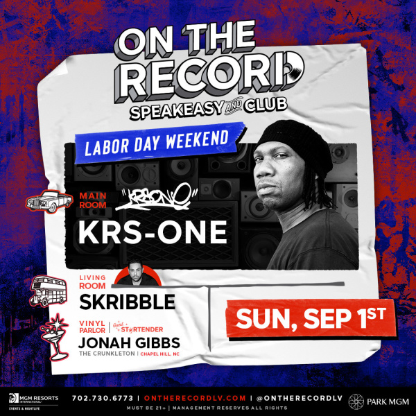 KRS-ONE Labor Day Weekend