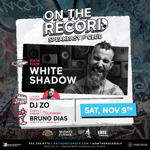 DJ White Shadow - On The Record
