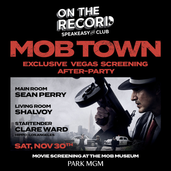 Mob Town Movie Premiere After Party