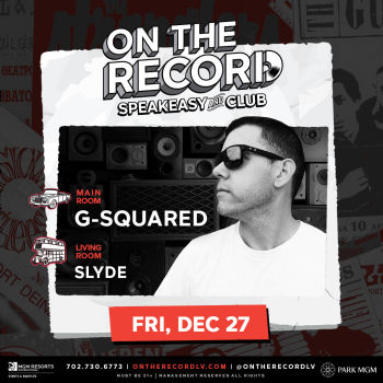 G Squared NYE Week - Fri Dec 27