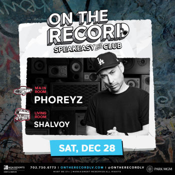 Phoreyz NYE Week - Sat Dec 28