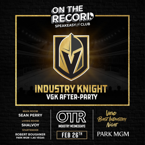 Industry Knight Wednesdays - On The Record