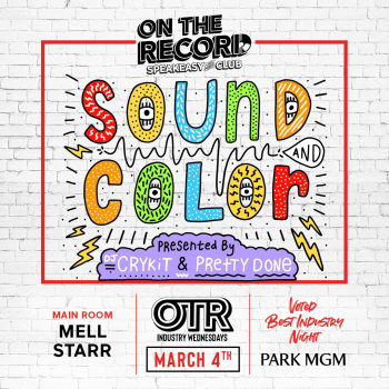 Sound & Color w/ Mell Starr & Crykit - Wed Mar 4