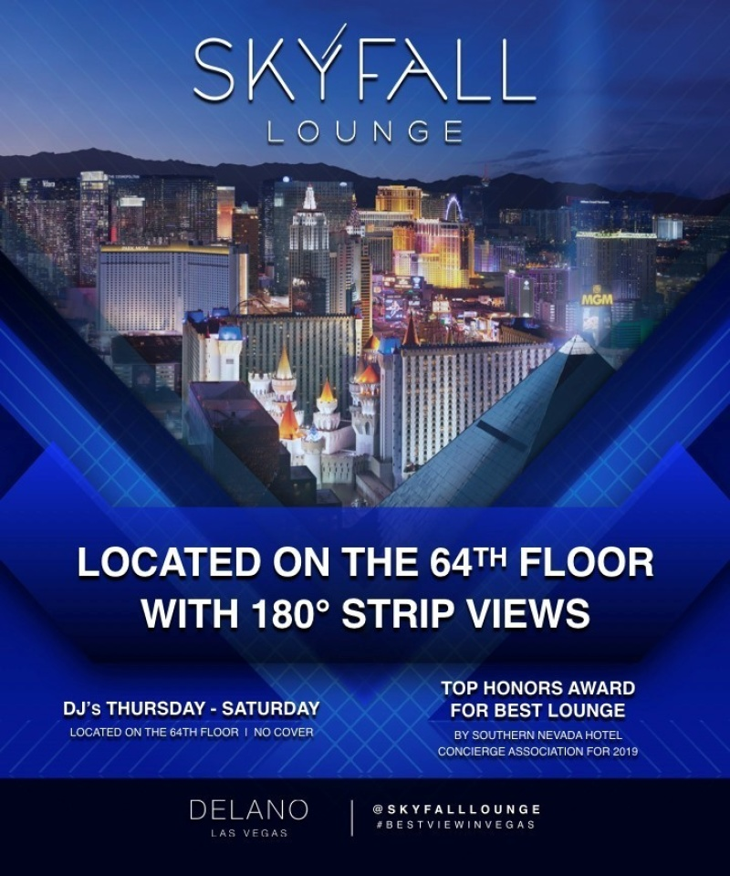 Events Las Vegas May 2020.Skyfall Skyfall Lounge The Best Of Las Vegas Clubs