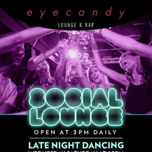 Social Lounge, Thursday, October 24th, 2019