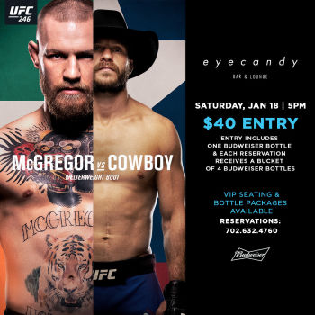 UFC 246 - McGregor vs Cerrone - Sat Jan 18