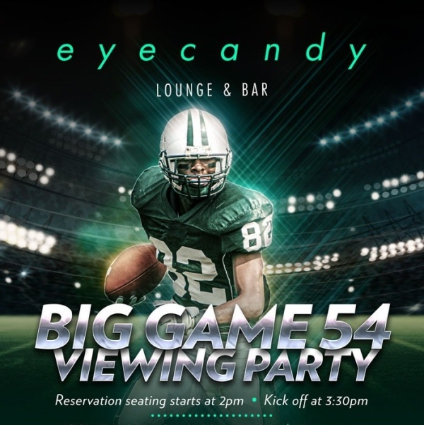 Big Game 54 - Viewing Party