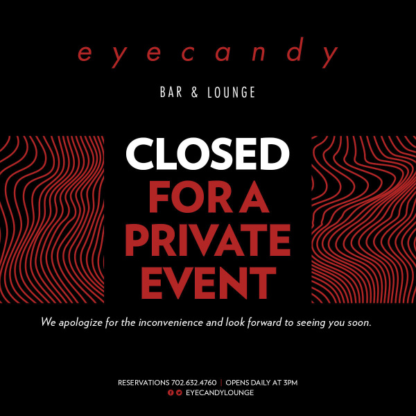eyecandy bar & lounge private event