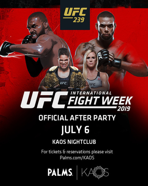 Official UFC After Party - Kaos Nightclub