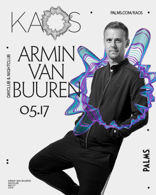EDC WEEK with Armin Van Buuren and Special Guest Sunnery James & Ryan Marciano - Kaos Dayclub