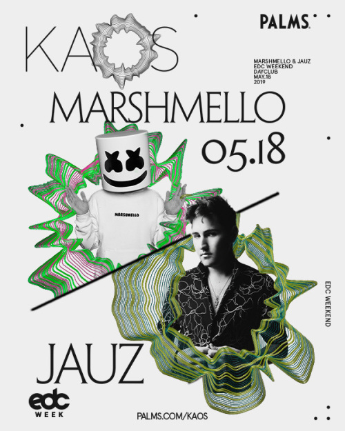 EDC WEEK with Marshmello and Jauz - Kaos Dayclub
