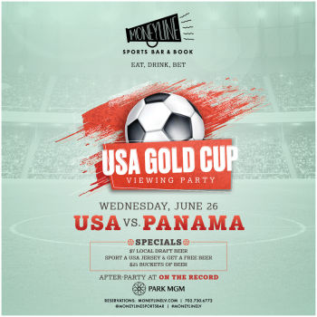 USA Soccer Gold Cup Game 3 - Wed Jun 26