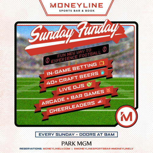 Sunday FUNday - Moneyline Sports Bar & Book