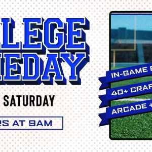 College Game Day, Saturday, November 30th, 2019