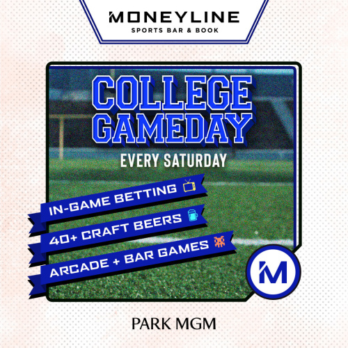 College Game Day - Moneyline Sports Bar & Book