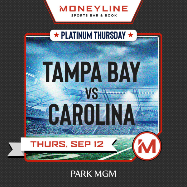 Platinum Thursdays: Tampa Bay vs Carolina