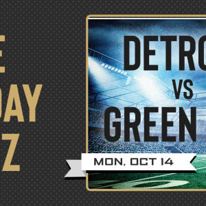 The Monday Blitz: Detroit vs Green Bay, Monday, October 14th, 2019