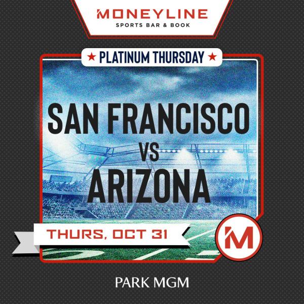 Platinum Thursdays San Francisco Vs Arizona Betmgm