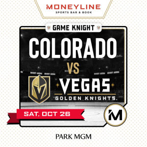 Game KNIGHT: Colorado vs VGK, Saturday, October 26th, 2019
