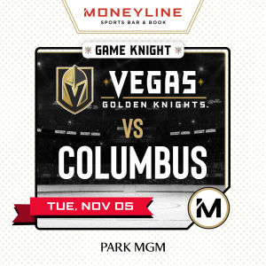 Game KNIGHT: Colombus vs VGK, Tuesday, November 5th, 2019
