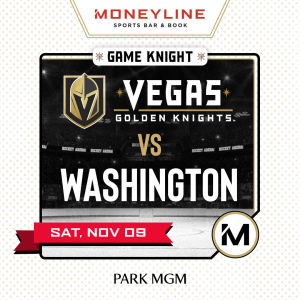 Game KNIGHT: Washington vs VGK, Saturday, November 9th, 2019