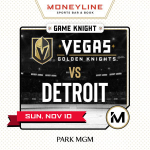 Game KNIGHT: Detroit vs VGK, Sunday, November 10th, 2019