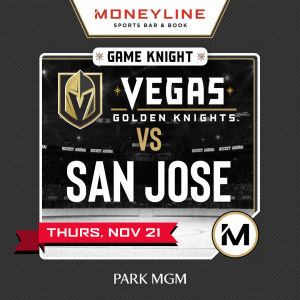 Game KNIGHT: San Jose vs VGK, Thursday, November 21st, 2019