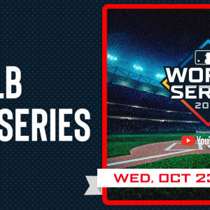 MLB World Series, Wednesday, October 23rd, 2019